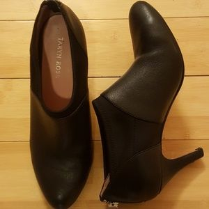 1a1bbc8f0b0 Taryn Rose Tonga Black Ankle boots Heels